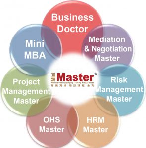 Business Doctor - Mini MBA - Mediation & Negotiation Master - HRM Master - Risk Management Master - OHS Master - Project Management Master